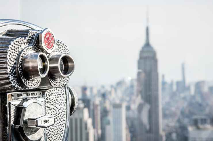 architecture binoculars buildings city